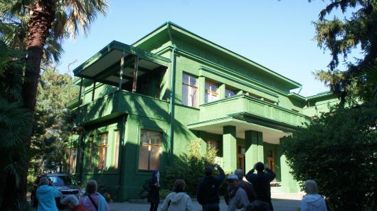 Stalin's Summer Residence: Stalin's living quarters