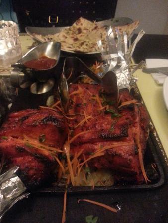 Salaam Bombay: Tandoori Chicken