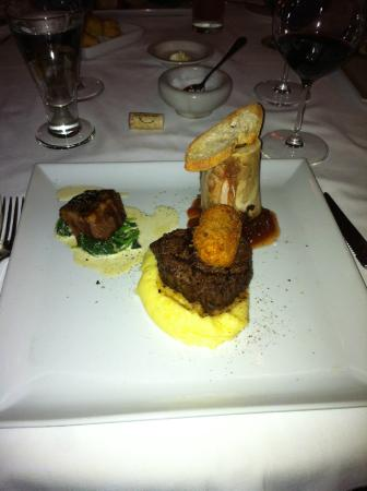 Barracuda Grill : beef tasting