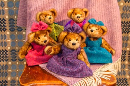 Trefriw Woollen Mills: Trefriw tweed teddies