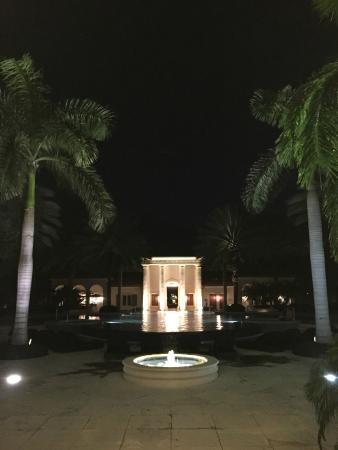 The Regent Grand: night view of the resort