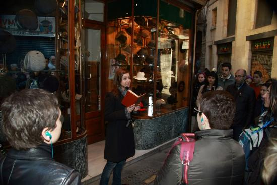 ICONO serveis culturals: Literary tour: The Shadow of the Wind
