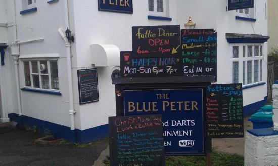 Fatties Diner the Blue Peter Inn