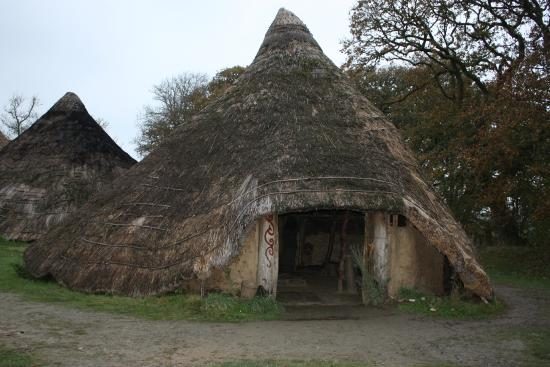 Castell Henllys: How we used to live!