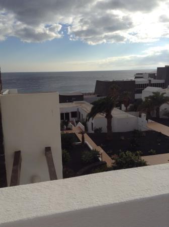 Caleton Blanco: View from balcony