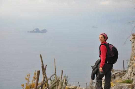 Sara Testi ,Hiking, Walking and Tour Guide in Siena & Tuscany: Sentiero degli Dei - Costiera Amalfitana