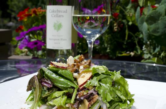 Lord Gore Restaurant at Manor Vail: Pear Salad