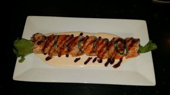 Yama Japanese Restaurant & Sushi Bar: Yama Roll.  Fantastic!