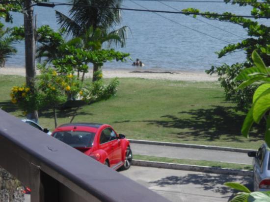 Pousada Estacao do Sol: Vista desde la terraza en que deayunaba