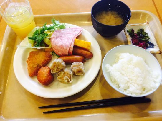 Hotel Route Inn Osaka Honmachi : 若干メニューが変わって続かないようになっていました