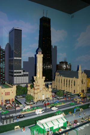 LEGOLAND Discovery Center: One of the first amazing Lego scenes