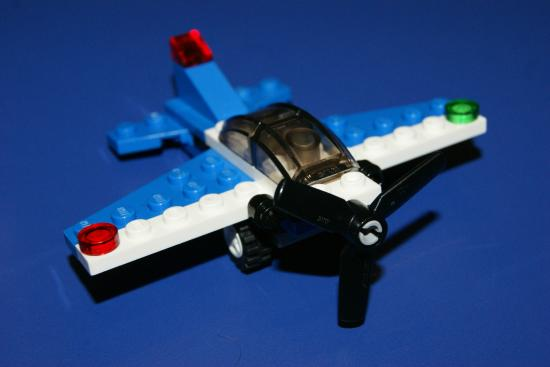 LEGOLAND Discovery Center: Plane we made in the class