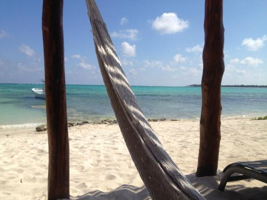 hammock on beach - Photo de Hotel Jashita, Soliman Bay - TripAdvisor