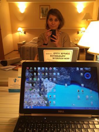 UralHotel : Огромное зеркало в номере :)