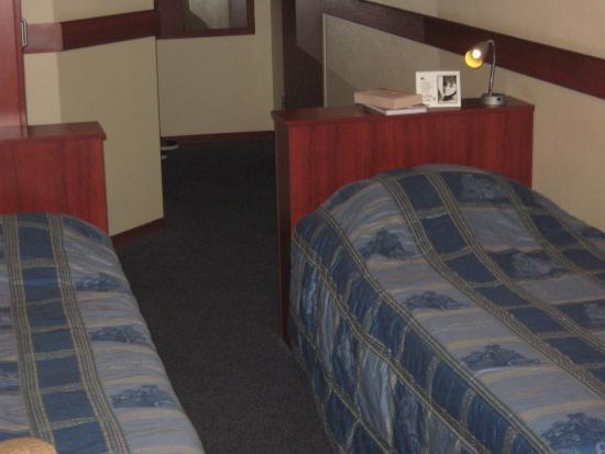 A-Train Hotel: Set up like a train sleeper