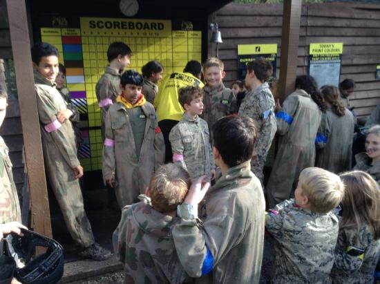Delta Force Paintball: Birthday boys get a free life pink band!