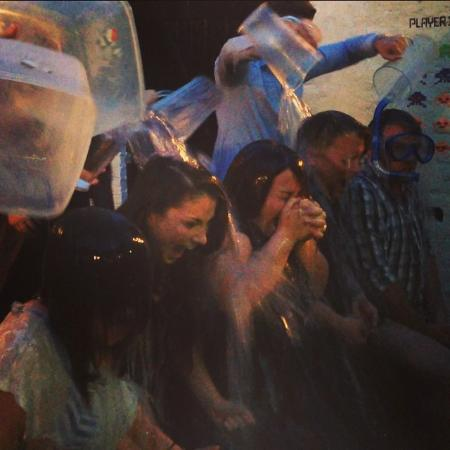 The Black Griffin: Company ice bucket challenge