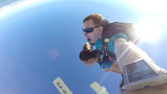 Skydive Airlie Beach : tuffo