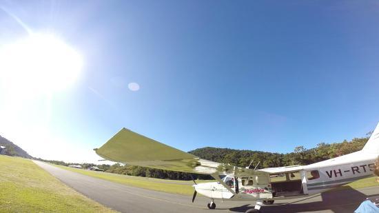 Skydive Airlie Beach : partenza