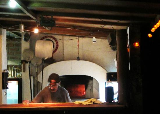Munchies Bluues: Sergio's famous wood fire pizza oven