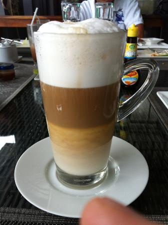 Chill Out Cafe : Amazing Caffe lattte