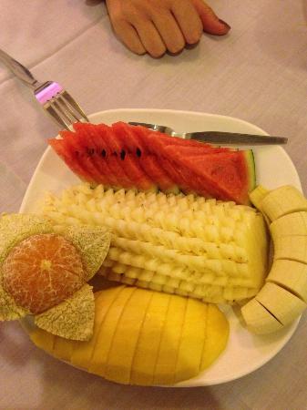 Ying Restaurant: Mixed fruits