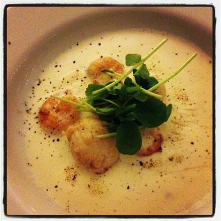 Not So Secret Suppers: Sabayon with Scallops & Prawns