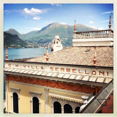 Grand Hotel Villa Serbelloni: view from the room