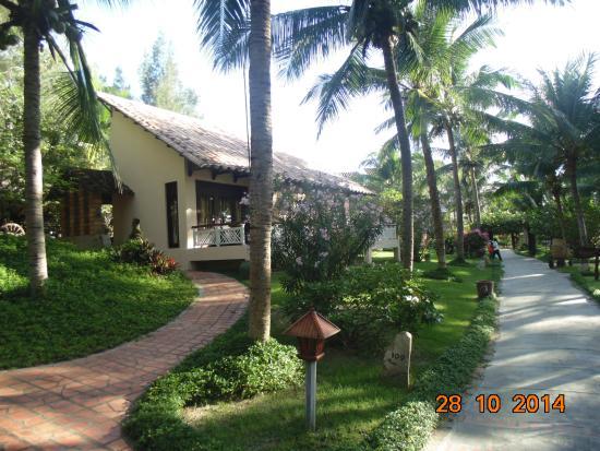 Saigon Mui Ne Resort: вилла снаружи