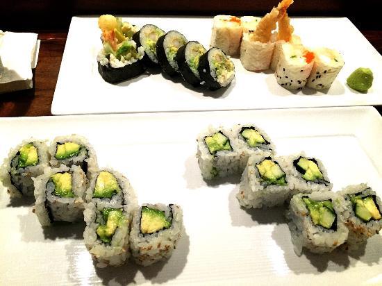 Mizuno Japanese Restaurant: ビーンズシート巻き..海苔とは違った美味しさ