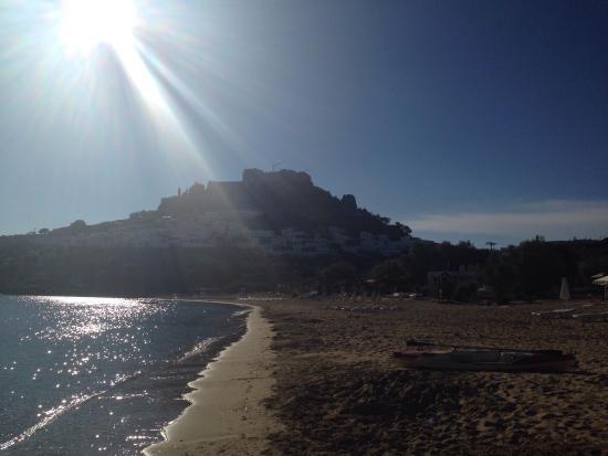 Villa Galini Lindos: Beach of Lindos