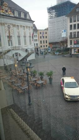 SternHotel Bonn: This is the view from the window