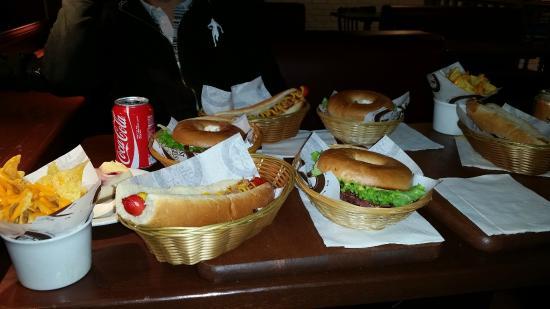Best Bagels Lyon Merciere: Plateau repas !