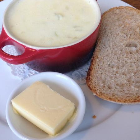 Water of Leith Cafe Bistro: yummy cullen skink