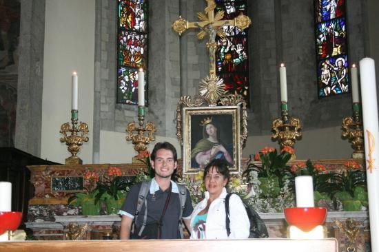 San Francesco Gubbio: Por dentro da Igreja