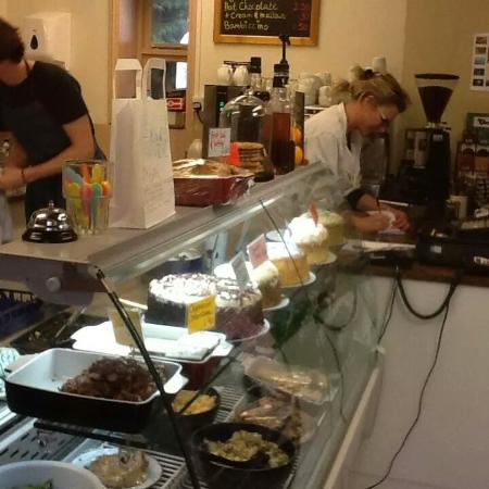 The Harvest Mouse Cafe Limited: busy, busy for breakfast!
