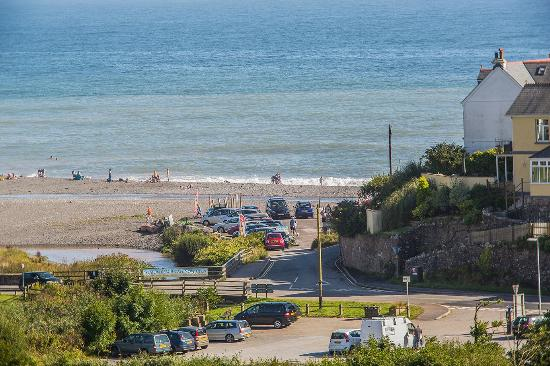 Seaton Beach Cafe: You can only see the car park from our house!