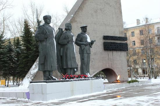 Victory War Monument 1941—1945 and Eternal Flame