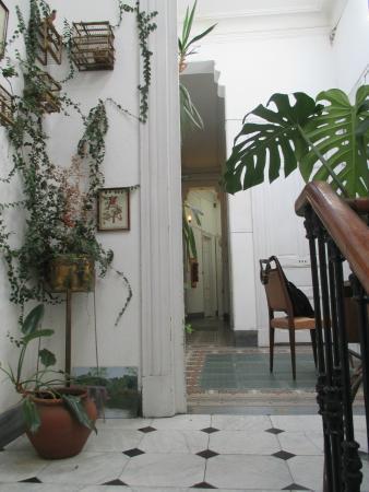 Splendido Hotel : View from the 3rd floor stairway
