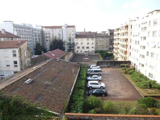 Hotel Axotel Lyon Perrache : Courtyard