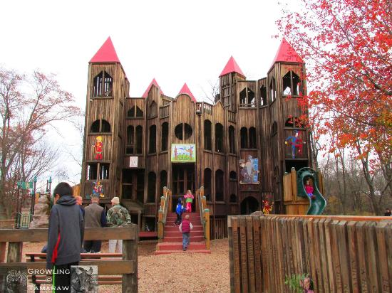 Kids Castle: 3-Storey Castle-Like Structure