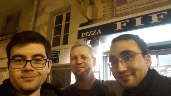 Pizza Fifi: Yemek sonrasi