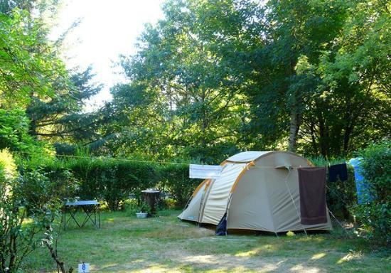 Rignac, Francia: Tente au camping