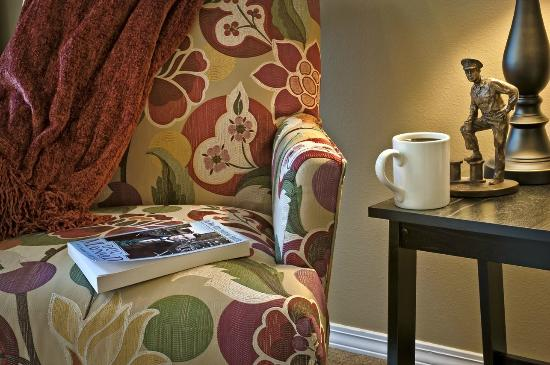 FoxBridge Bed and Breakfast: Enjoy a cup of coffee!