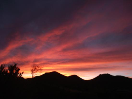 Starr Pass Golf Suites: Sunset