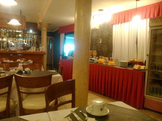 Hotel Internacional: Zona de Desayuno