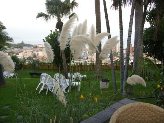 Hotel Tigaiga: Gartenanlage des Hotels Tigaiga
