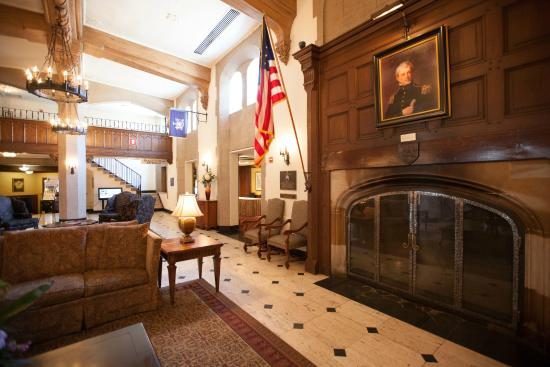 The Thayer Hotel: The Historic Thayer Hotel at West Point Lobby