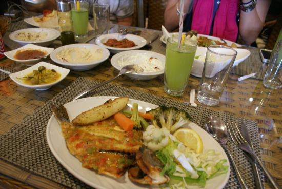 floka seafood restaurant : Peixe