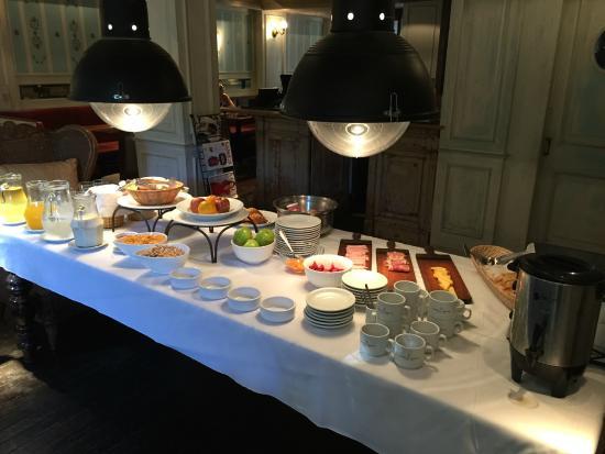 Ultra Hotel : Frühstücksbuffet